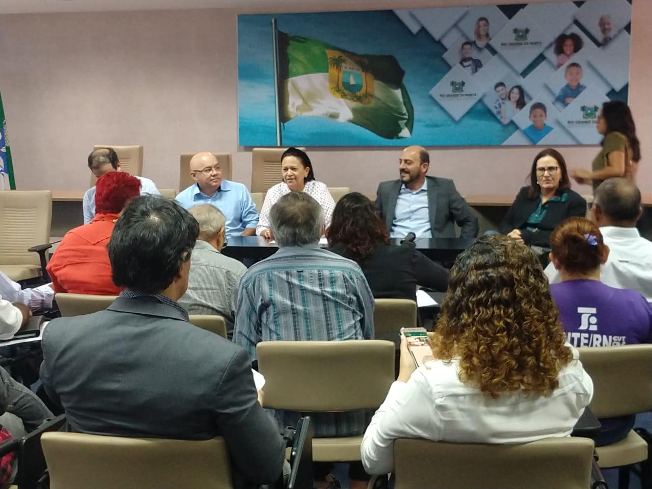 SINPOL-RN participa de reunião do Fórum com Governo do RN | Sinpol/RN